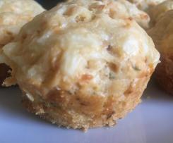herzhafte Kartoffelchips Muffins