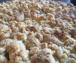 Apfelkuchen mit Streuseln - Appelkoken wie bei Oma Annemie