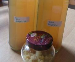 Grüner Eistee Zitronen Sirup und Zitronen Aroma 2 in 1 Rezept