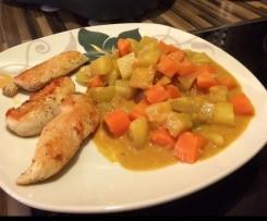 Vegetarisches / Veganes Mafé (Gemüse in Erdnusssoße)