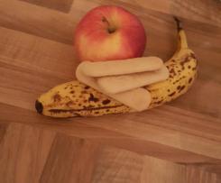 Apfel- Banane Babykeks