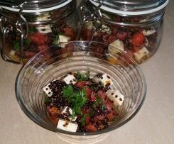 Schwarzer Quinoa Salat