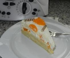 Mandarinen-Sahne-Schnitten