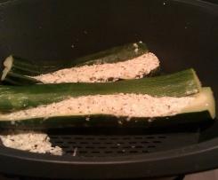 Gefüllte Zucchini mit Feta