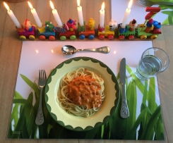 Omas Kinder-Tomatensauce für Spaghetti