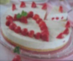 Erdbeer-Mandarinen-Frischkäse-Traum