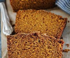 Pumpkin Bread Kürbiskuchen