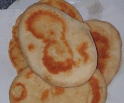Grundrezept Naan-Brot