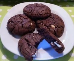 Schoko Kaffee Cookies