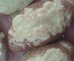 Käse-Laugenstangen, geht auch laktosefrei