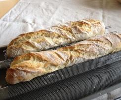 Baguette nach französischem Rezept