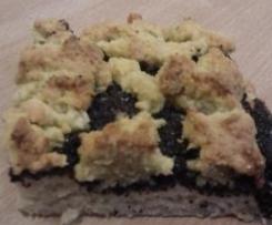 Mohn-Streuselkuchen