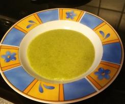 Schnelle Brokkolicremesuppe