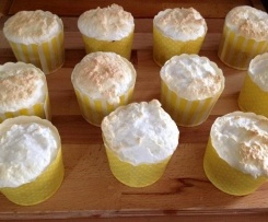 Lemoncurd Cupcakes mit Baiserhaube
