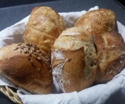 Dinkelbrötchen Bäckerbrötchen