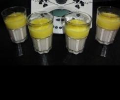 """Coco Loco "" Quark-Kokos-Mousse mit Ananas"