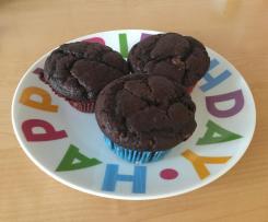 Schokoladen Muffins, fluffig