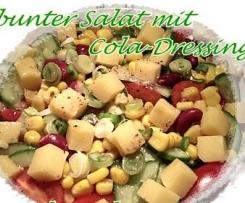 Bunter Salat mit Cola-Dressing