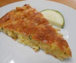 Variation von Kartoffel-Zucchini-Kuchen, vegan