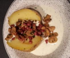 Connys Ofenkartoffeln mit Sauerrahmdip