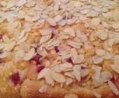 Sylter Apfelkuchen mit Butter-Mandel-Haube