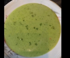 Zucchini/Bleu d'Auvergne Suppe