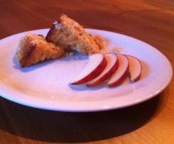Apfel-Grieß-Auflauf