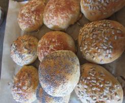 Kartoffel-Frischkäse-Brötchen