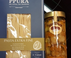 Gerrys Pasta ai Funghi porcini - Bandnudeln mit Steinpilzen
