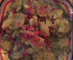 Kartoffeln in Petersiliensauce
