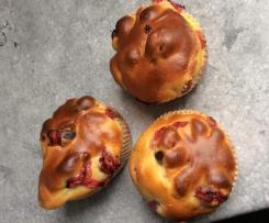 Cranberry - Quark - Muffins