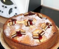 Bratapfel-Dominostein-Kuchen