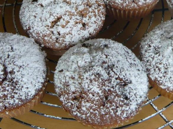 schoko apfel muffins von esthi76 ein thermomix rezept aus der kategorie backen s auf www. Black Bedroom Furniture Sets. Home Design Ideas
