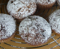 Schoko -Apfel- Muffins