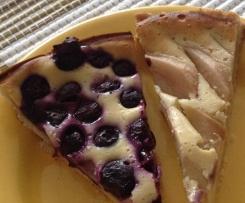 Heidelbeer - Blaubeer-Tarte