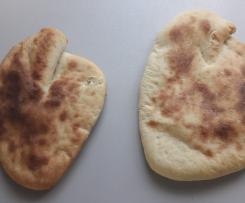 Naan Fladenbrot (indisch - vegan)