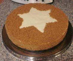 Spekulatius-Torte -  ohne Backen