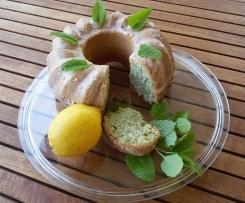 Zitronenmelisse Kuchen
