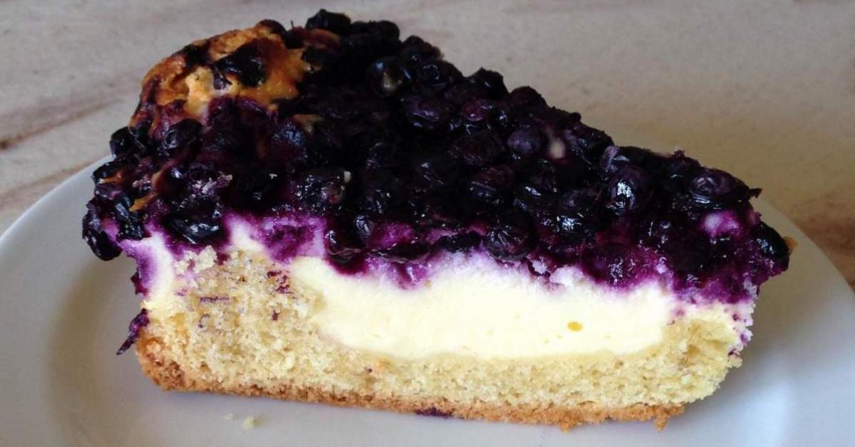 Blaubeer Kase Kuchen Quarkkuchen Von Tawu Ein Thermomix Rezept