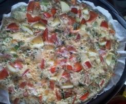 Omelett ohne Fett ;)