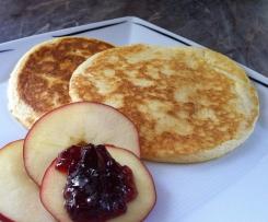 Fluffy Pancakes - Luftige Pfannkuchen (Rezept des Tages 24.7.16)