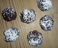 Schokoladenhäufchen