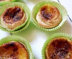 Variation von Portugiesische Cremetörtchen - Pastéis de Nata