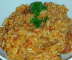 Paprika - Tomatenreis