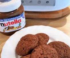 Pfefferminz Nutella Cookies