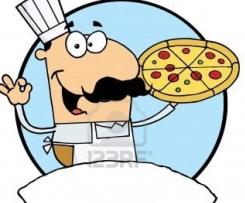 Pizzateig extra dünn und kross