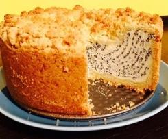 Mohn Streusel Quark Kuchen (Knusperstübchen)