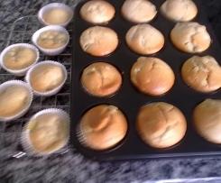 Rhabarber-Zimt-Muffins