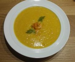 Karotten- Mango-Suppe