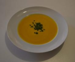 Kürbis - Kokos - Cremesuppe
